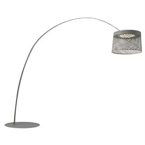 Foscarini Twiggy Grid Floor lamp Outdoor Grey