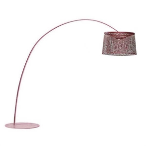 Foscarini Twiggy Grid Floor lamp Outdoor Red