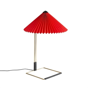 HAY Matin Tafellamp Medium Rood