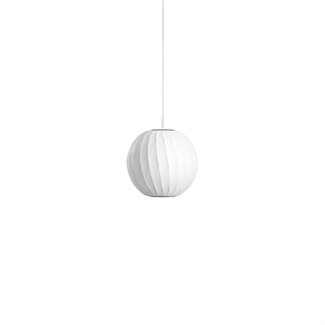 HAY Nelson Ball Crisscross Bubble Hanglamp Klein wit
