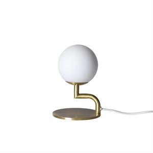 Pholc MOBIL Table Lamp Brass/Opal