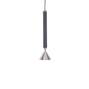 Pholc APOLLO 39 Pendant Black/Polished Aluminium