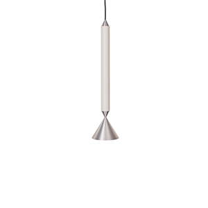 Pholc APOLLO 39 Pendant White/Polished Aluminium