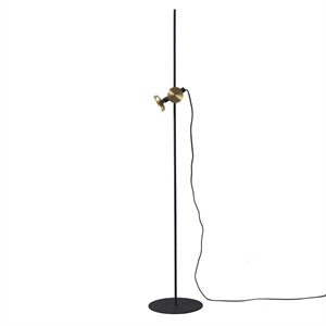 Pholc BLEND Floor Lamp Black/Brass