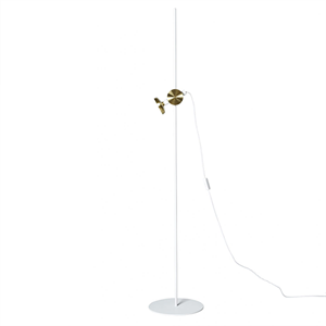 Pholc BLEND Floor Lamp White/Brass