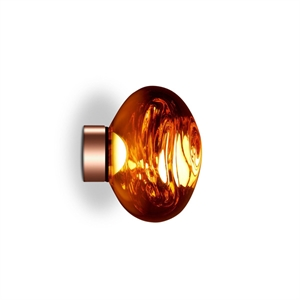 Tom Dixon Melt Surface Wand-/Plafondlamp LED Koper Klein