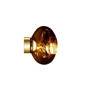 Tom Dixon Melt Surface Wand-/Plafondlamp LED Goud Klein