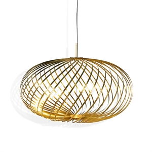 Tom Dixon Spring Medium Hanglamp Messing