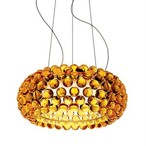 Foscarini Caboche Hanglamp Media LED Goud