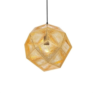 Tom Dixon Etch Messing Hanglamp