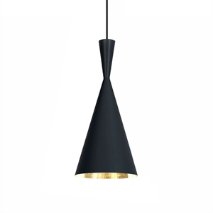 Tom Dixon Beat Hanglamp Tall Zwart