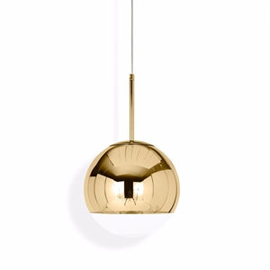 Tom Dixon Mirror Ball Hanglamp Goud Klein