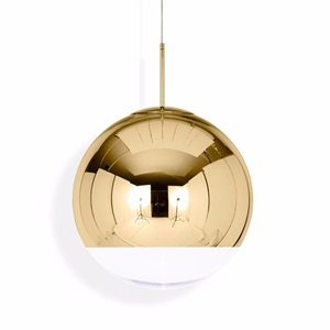 Tom Dixon Mirror Ball Goud Hanglamp Groot